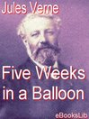 Five Weeks in a Balloon (eBook)