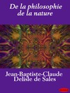De la philosophie de la nature (eBook)