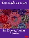 Une étude en rouge (eBook)