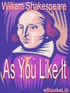 As You Like It (eBook)