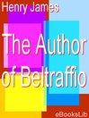 The Author of Beltraffio (eBook)