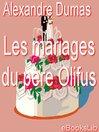 Les mariages du père Olifus (eBook)