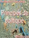 Principes de politique (eBook)