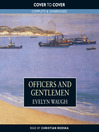 Officers and Gentlemen (MP3): Sword of Honour Trilogy, Book 2
