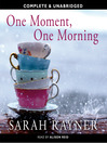 One Moment, One Morning (MP3)