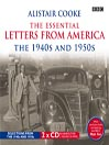 The Essential Letters from America (MP3): The 1940s and 1950s