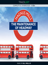 The Maintenance of Headway (MP3)