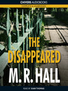 The Disappeared (MP3): Jenny Cooper Series, Book 2