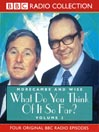 What Do You Think of it So Far? (MP3): Morecambe and Wise, Volume 2
