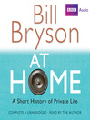 At Home (MP3): A Short History of Private Life