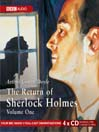 The Return of Sherlock Holmes, Volume 1 (MP3)