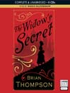 The Widow's Secret (MP3): Bella Wallis Mystery Series, Book 1