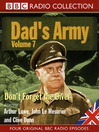 Don't Forget the Diver (MP3): Dad's Army, Volume 7