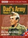 Sergeant Wilson's Little Secret (MP3): Dad's Army, Volume 4