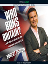 Who Runs Britain? (MP3)