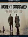 Found Wanting (MP3)