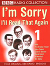 I'm Sorry I'll Read That Again 1 (MP3)