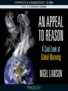 An Appeal to Reason (MP3): A Cool Look at Global Warming