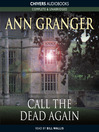 Call the Dead Again (MP3): Mitchell & Markby Mystery Series, Book 11