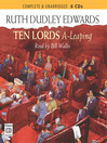 Ten Lords A-leaping (MP3): Robert Amiss Series, Book 6