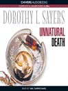 Unnatural Death (MP3): Lord Peter Wimsey Series, Book 3