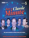 Just A Classic Minute, Volume 5 (MP3)