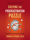 Solving the Procrastination Puzzle (MP3): A Concise Guide to Strategies for Change