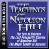 The Teachings of Napoleon Hill (MP3): The Law of Success; The Lost Prosperity Secrets of Napoleon Hill; The Magic Ladder to Success