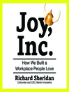 Joy, Inc. (MP3): How We Built a Workplace People Love