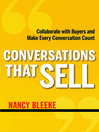 Conversations That Sell (MP3): Collaborate with Buyers and Make Every Conversation Count