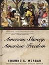 American Slavery, American Freedom (MP3)