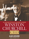 Winston Churchill CEO (MP3): 25 Lessons for Bold Business Leaders