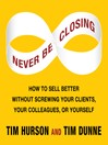 Never Be Closing (MP3)