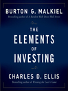 The Elements of Investing (MP3)