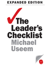 The Leader's Checklist, Expanded Edition (MP3): 15 Mission-Critical Principles