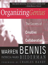 Organizing Genius (MP3): The Secrets Of Creative Collaboration