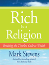 Rich is a Religion (MP3): Breaking the Timeless Code to Wealth
