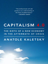 Capitalism 4.0 (MP3): The Birth of a New Economy in the Aftermath of Crisis