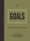 Goals (MP3): The 10 Rules for Achieving Success