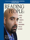 Reading People (MP3): A Master Hypno-Therapist's Guide To Understanding People in 60 Seconds