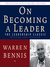 On Becoming a Leader (MP3): The Leadership Classic Revised and Updated
