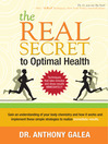 The Real Secret to Optimal Health (MP3)