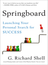 Springboard (MP3): Launching Your Personal Search for Success