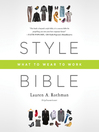 Style Bible (MP3): What to Wear to Work