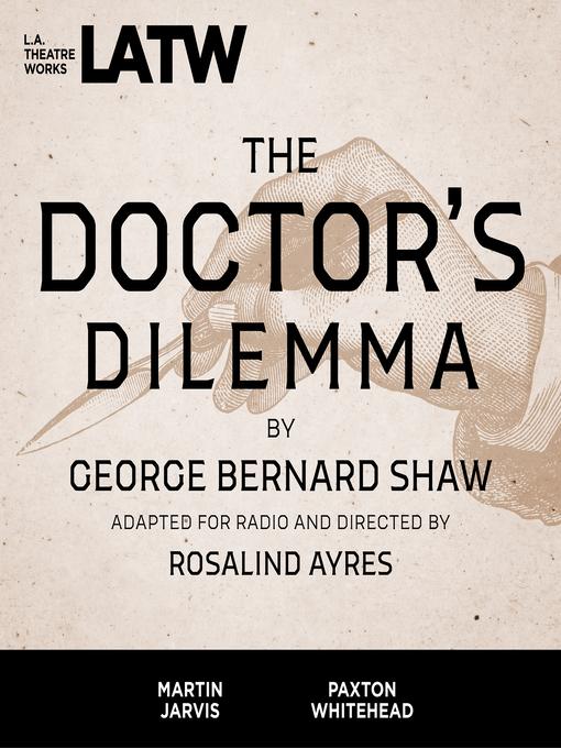 The Doctor's Dilemma (MP3)