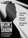 Orson's Shadow (MP3)