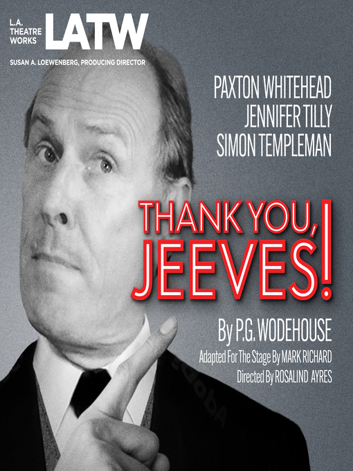 Thank You, Jeeves (MP3)