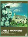 Table Manners (MP3): Norman Conquest Series, Book 1