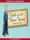 Emil and the Three Twins (MP3): Emil and the Detectives Series, Book 2