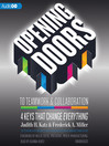 Opening Doors to Teamwork and Collaboration (MP3): 4 Keys That Change Everyhting